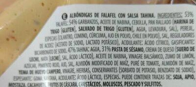 Falafel - Ingredients