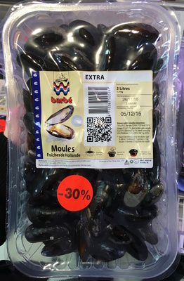 Moules fraîches de Hollande extra - Product - fr