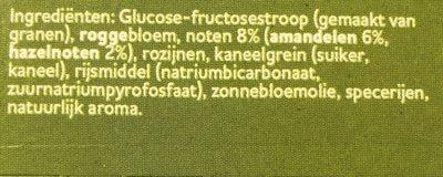 Peijnenburg Overheerlijke Noten - Ingrediënten