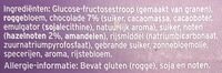 belgische chocolate - Ingredients - nl