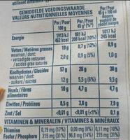 Quaker Cruesli 4 Nuts - Nutrition facts - nl