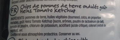 Super Chips Heinz Tomato Ketchup - Ingrediënten - fr