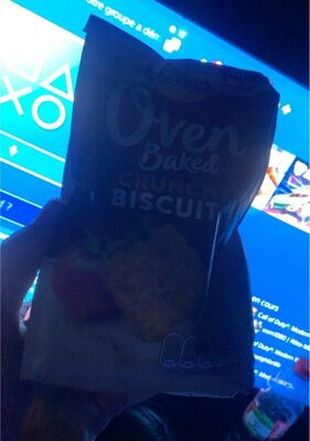 Oven baked crunchy biscuits - Product - nl
