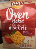 Oven baked crunchy biscuits - Product