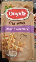 Cashews garlic & rosemary - Product