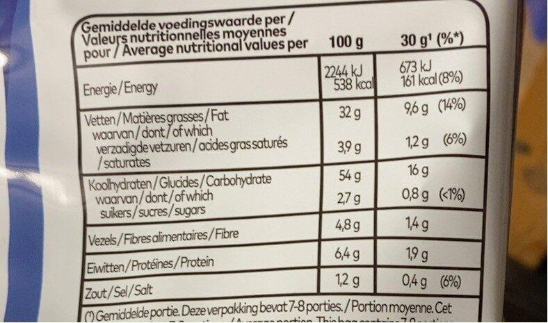 Paprika flavour - Informations nutritionnelles - fr
