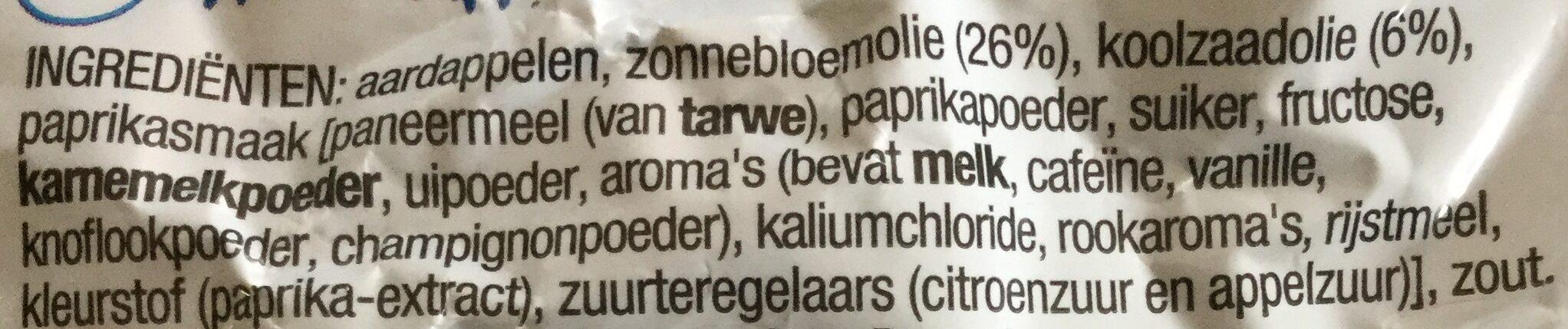Lay's Paprika - Ingredientes - nl