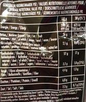 Lay's Sensations Red Sweet Paprika Flavor - Voedigswaarden