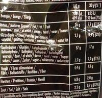 Lay's Sensations Red Sweet Paprika Flavor - Voedingswaarden - fr