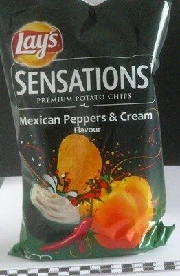 Sensations Mexican Peppers & Cream Flavour - Product - fr