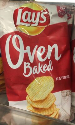 Lay's Oven baked Natural - Product - fr