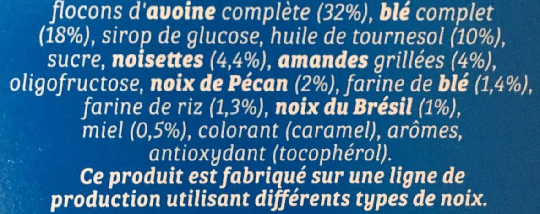 4 nuts - Ingrediënten - fr
