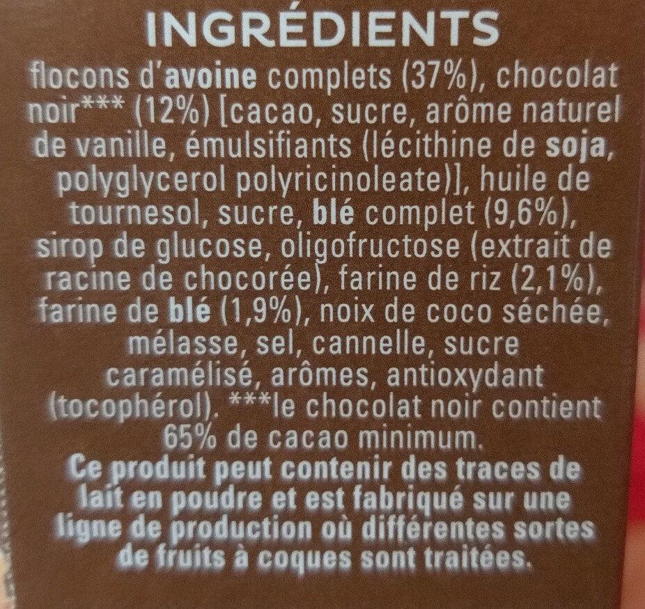 Cruesli chocolate - Ingrediënten - fr