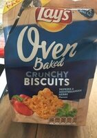Lays Oven Paprika & Mediterranean Herbs Crunchy Biscuits - Product - nl
