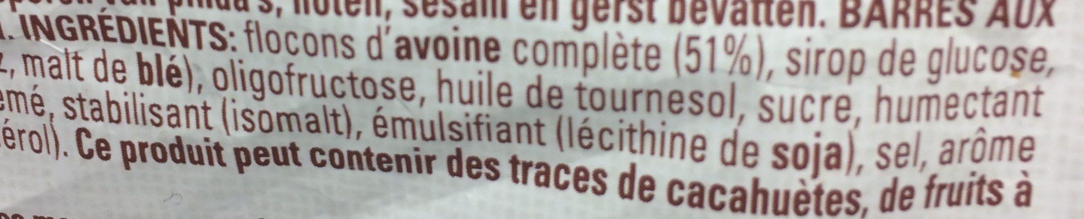 Havermount Flocons D'avoine , Haferflocken - Ingredients