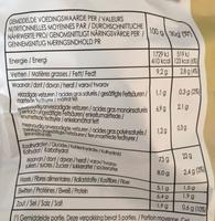 Oven - Chips goût huile d'olive & herbes - Voedingswaarden - fr