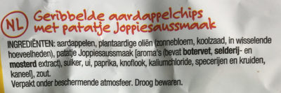 Lay's Superchips Patatje Joppie Flavour - Ingrediënten