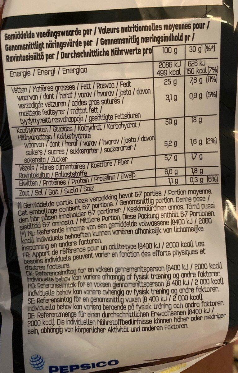 Doritos Chili Peper - Informations nutritionnelles - fr