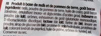 Grills fumé - Ingredients - fr