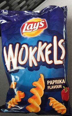 Wokkels paprika flavour - Produit - fr