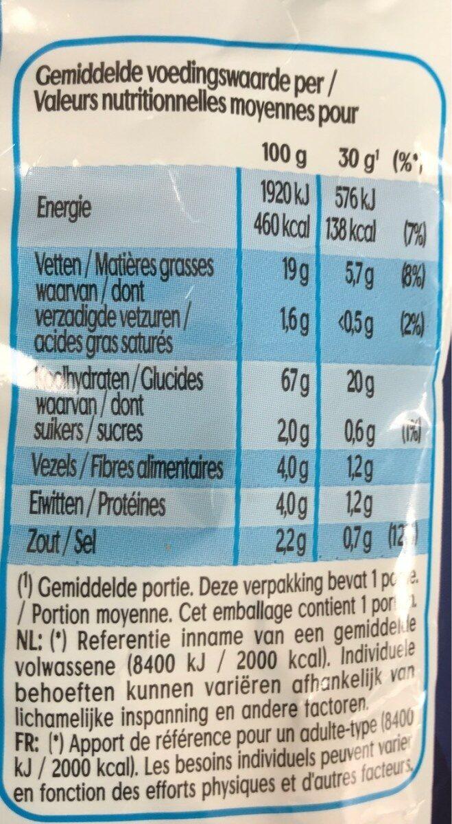 Wokkels paprika flavour - Informations nutritionnelles - fr