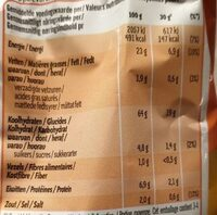 Goût Fromage - Voedingswaarden - fr