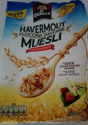 Havermout flocons d'avoine muesli multifruit - Product