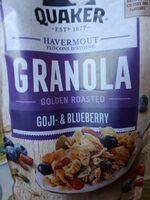 Granola - Goji & blueberry - Product - fr