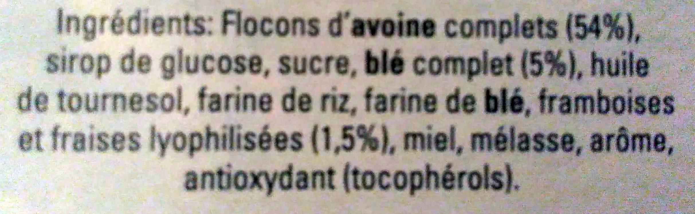 Havermout - Flocons d'avoine granola - Ingredienti - fr