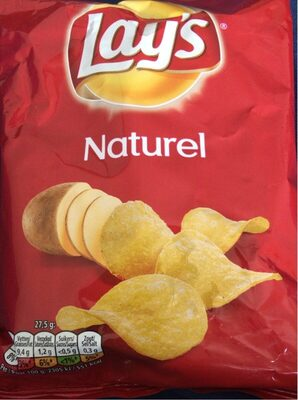 Lay's chips nature - Voedingswaarden - fr