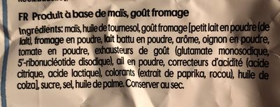 Bugles nacho cheese flavour - Ingrediënten - fr