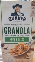 Granola chunky baked nuts & seeds - Product - fr