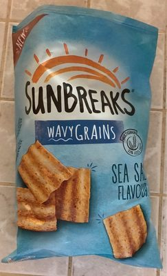 Wavygrains, Sea Salt Flavour - Product - fr
