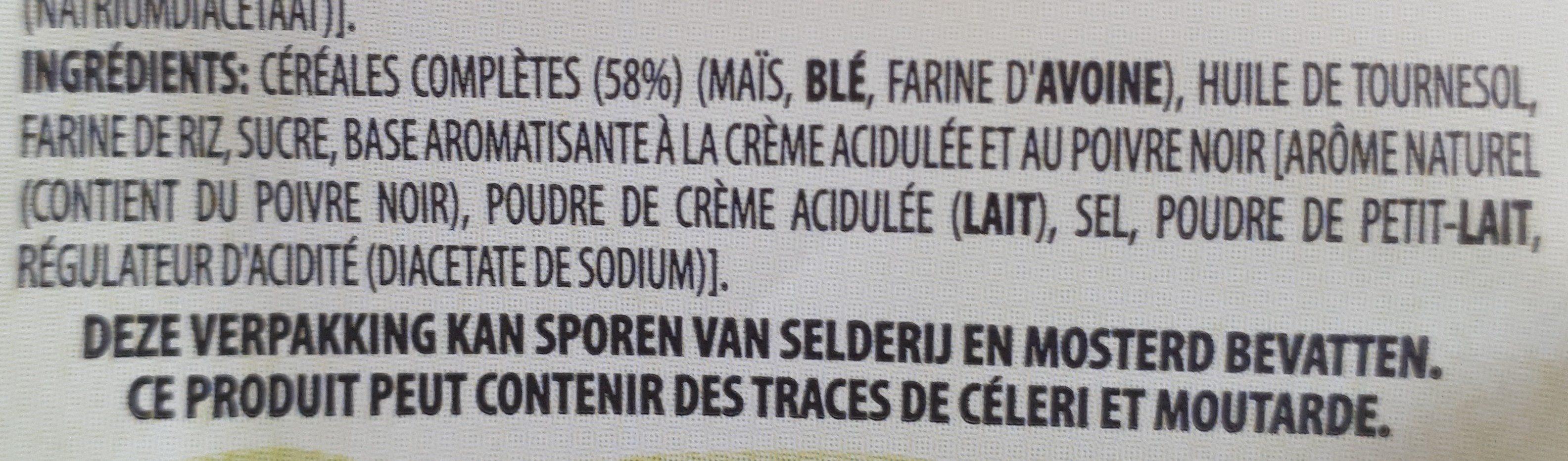 Wavygrains - Ingredients - fr