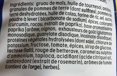 Mix paprika - Ingrediënten