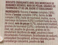 Havermout flocons d'avoine breaks - Ingredienti - fr