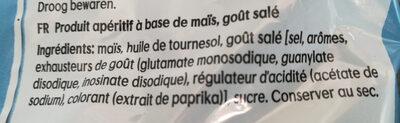 Bugles naturel - Ingredients
