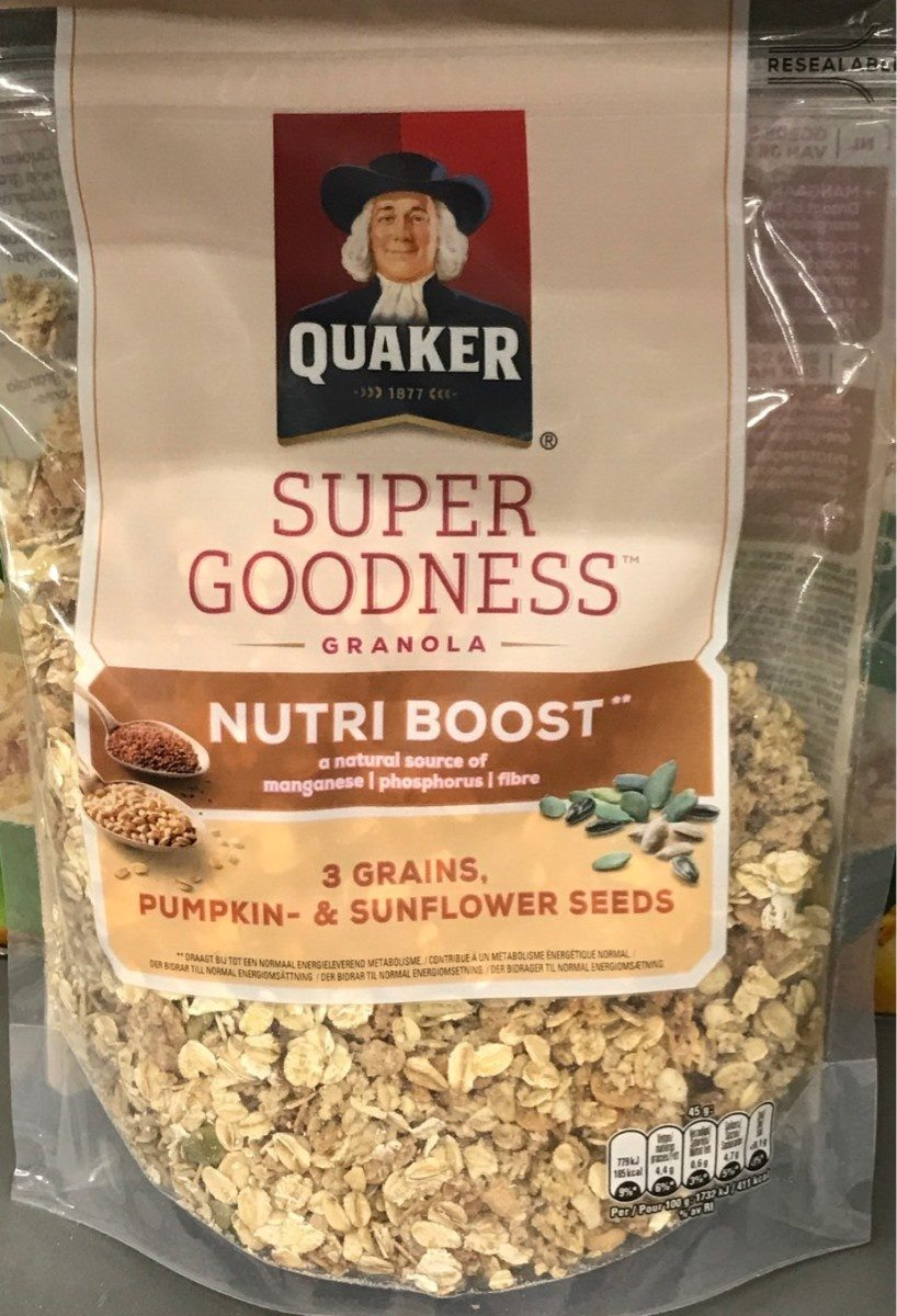 Super Goodness Nutri Boost - Produit - fr