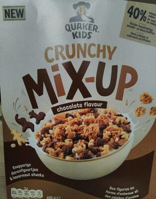 Crunchy mix-up chocolate flavour - Product