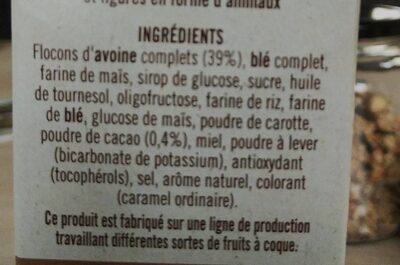 Crunchy Mix-Up - Ingrédients - fr