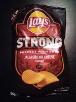 Lay's strong jalapeno and cheese flavour - Product - fr