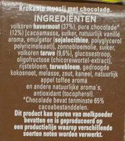 Cruesli Chocolate - Ingrediënten - nl