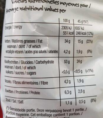 Naturel - Informations nutritionnelles - fr