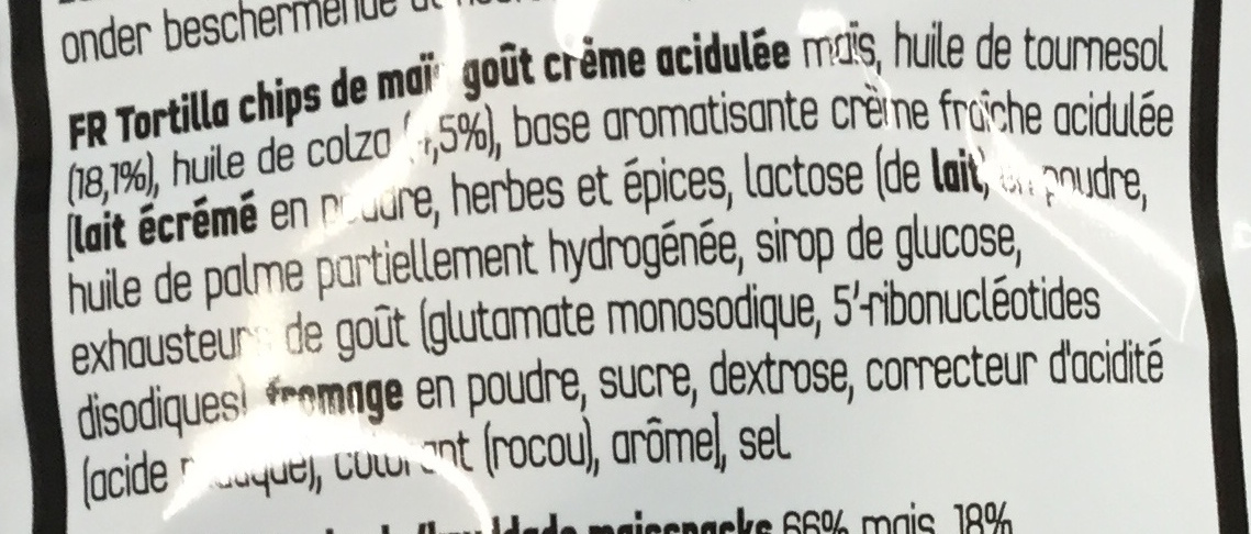 Cool American Flavour - Ingredients - fr
