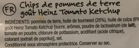 Heinz Tomato Ketchup Chips - Ingredients - en