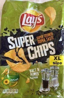 Super chips salt 'n pepper flavour - Product - fr