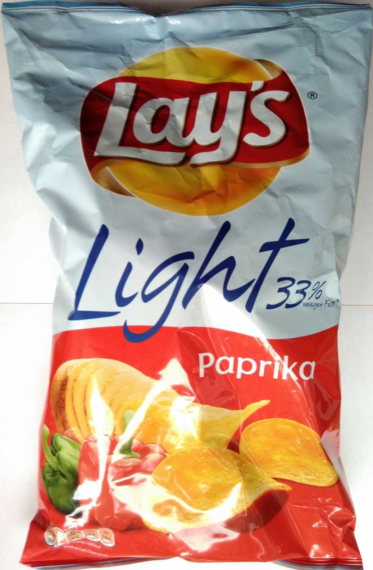 Light 33% Paprika - Produkt - de