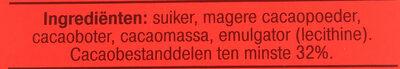 Puur Hagelslag - Ingrediënten - nl