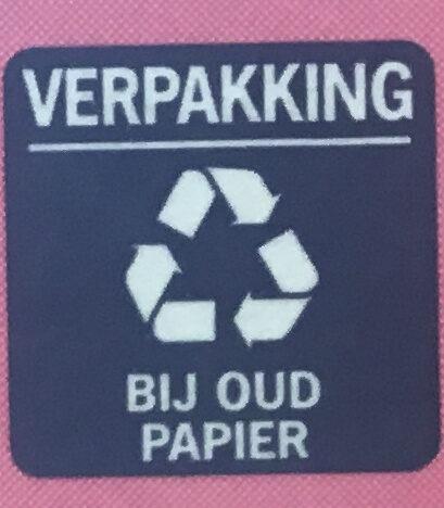 Puur Hagelslag - Recyclinginstructies en / of verpakkingsinformatie - nl