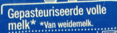 Verse Volle Melk - Ingrediënten - nl
